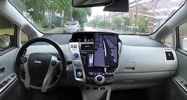 Беспилотный автомобиль от Яндекса