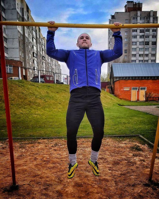 Капитан милиции Белоруссии Егор Емельянов