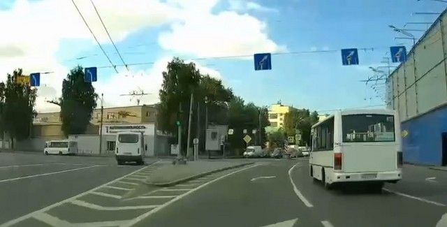 Массовое ДТП на Большеохтинском мосту
