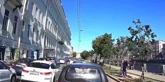 Авария на набережной Фонтанки