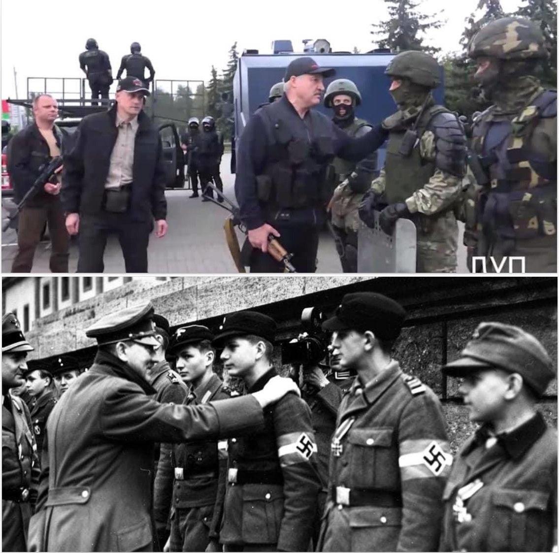 Мемы про Лукашенко с автоматом (12 фото + 5 видео)