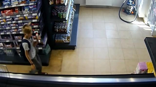 Воришки в магазине