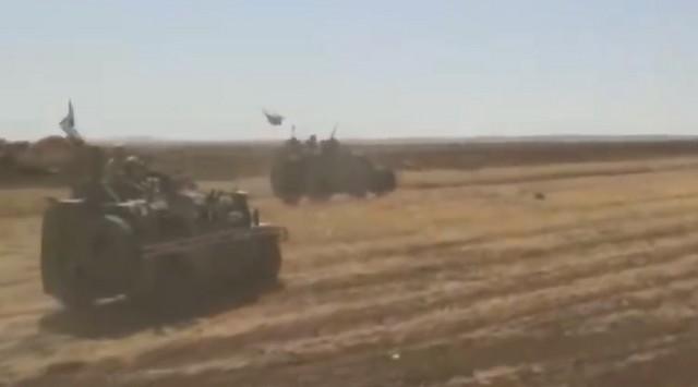 Военные США и России в Сирии