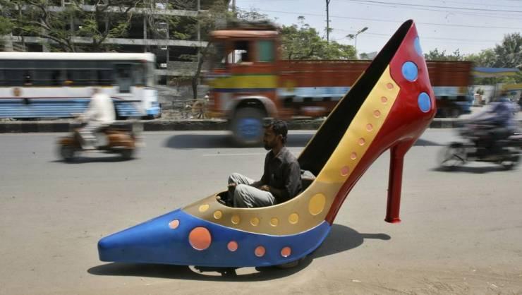 Транспорт женская туфля