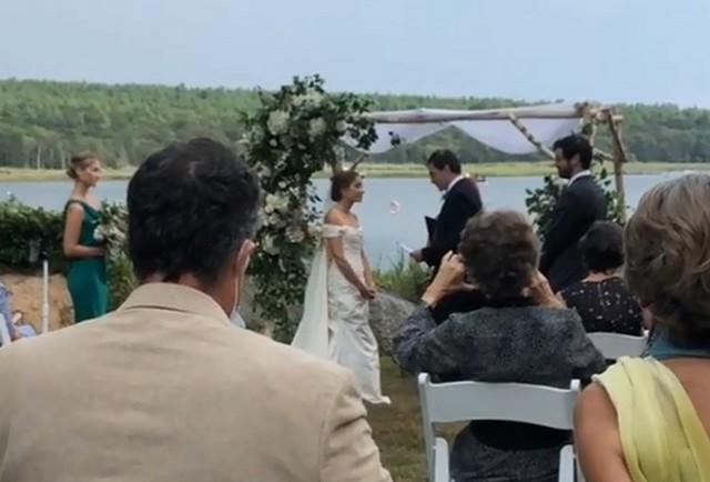 Свадьба в Массачусетсе