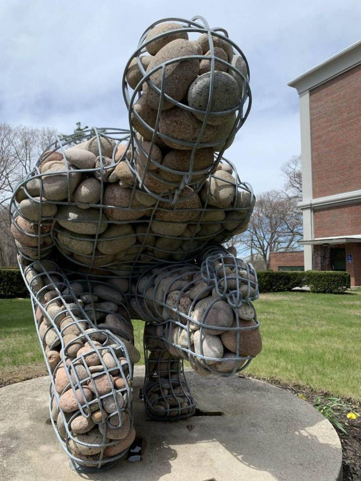 Скульптура из камней