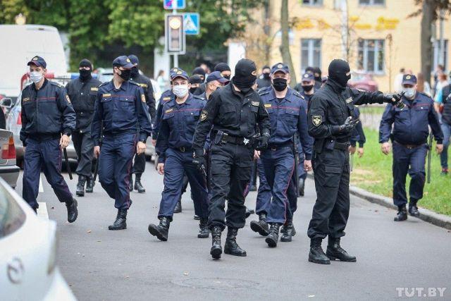Милицейские в Беларуси