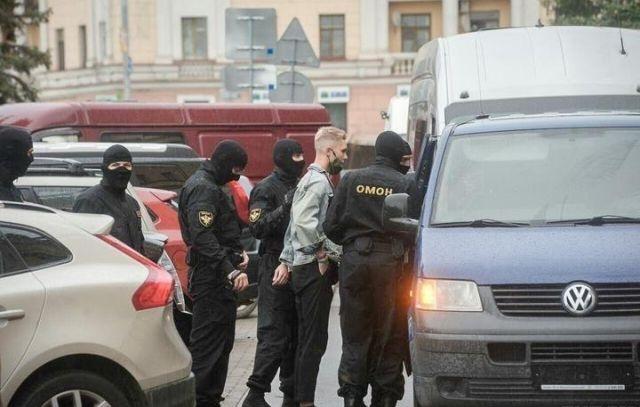 Задержание студента в Беларуси