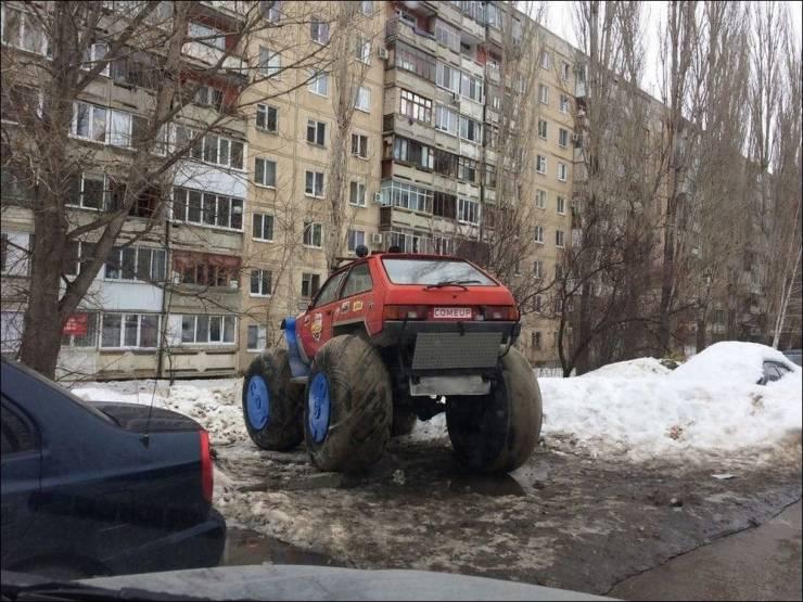 Самодельный автомобиль бигфут
