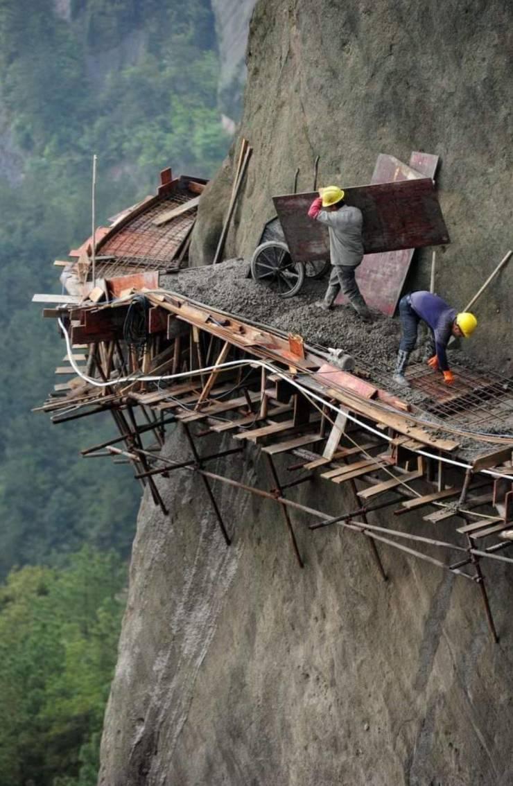 Строительство горной дороги