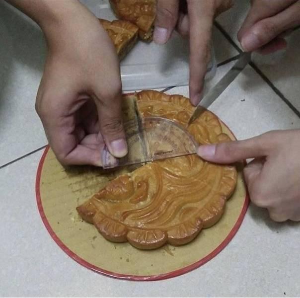 правильный способ разделить пирог