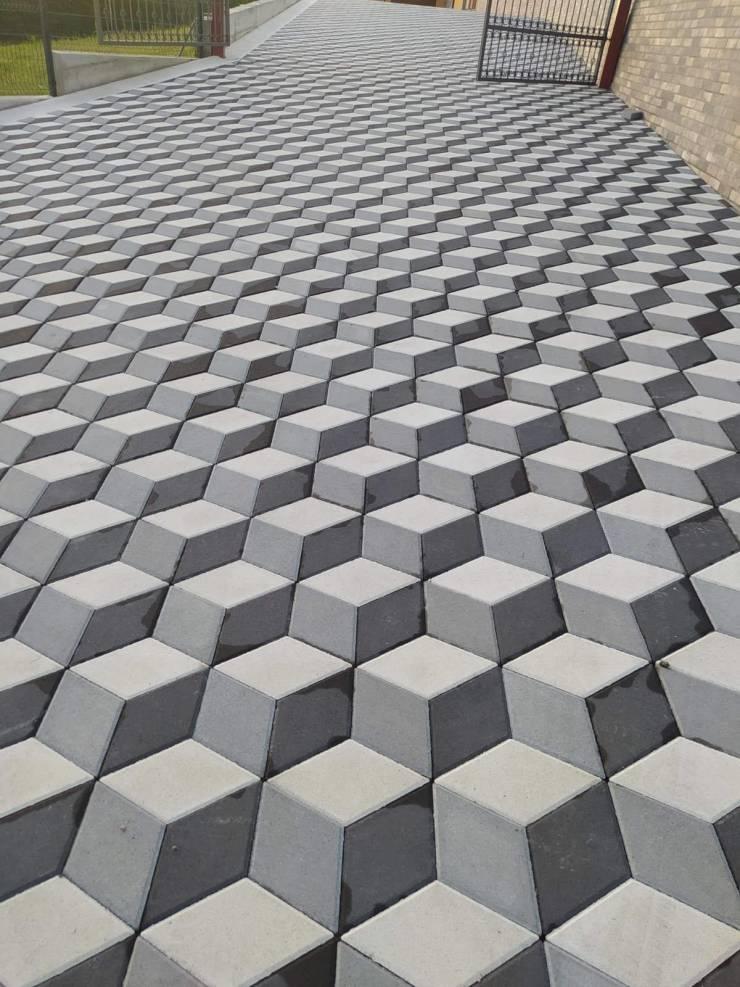 Оптическая иллюзия дорога