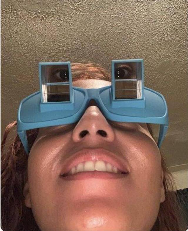 Очки для чтения лежа