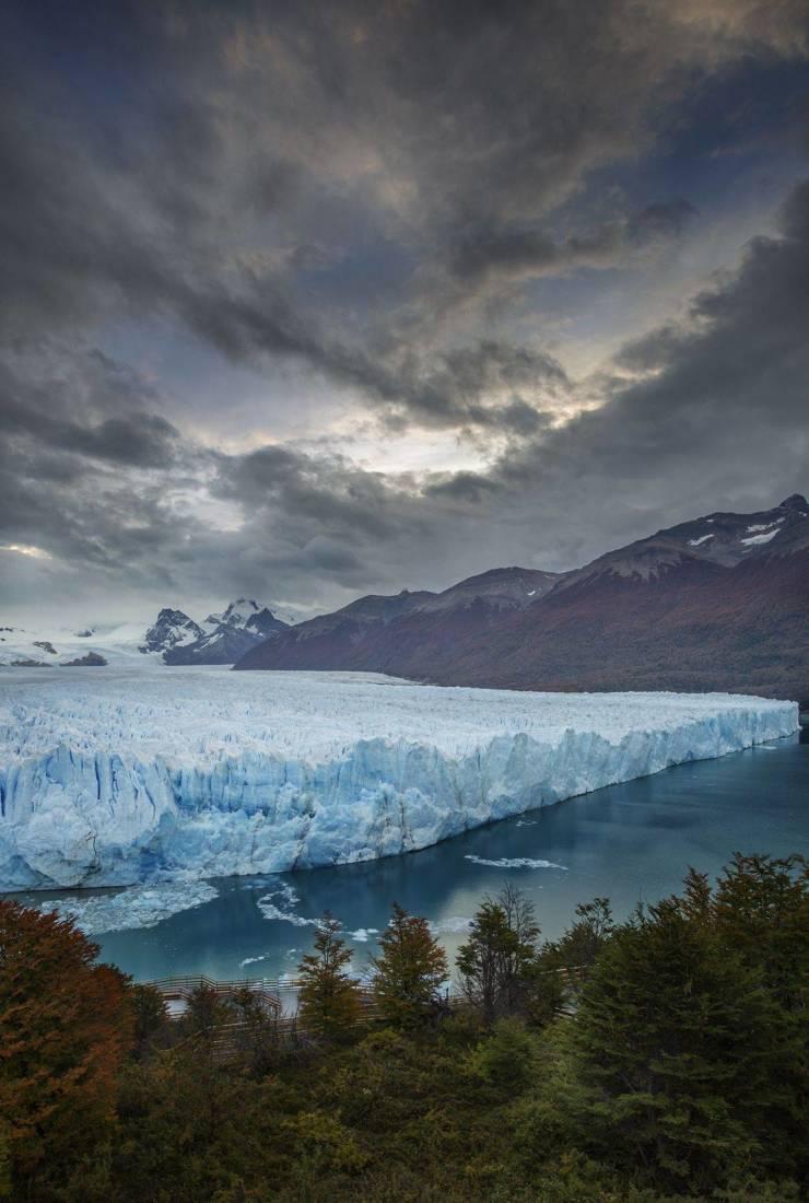 Вечная мерзлота и ледник