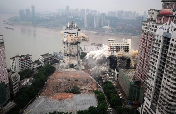 Запланированное обрушение здания