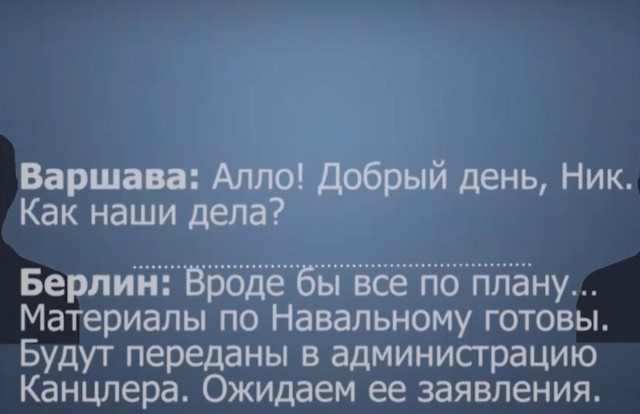 Рассекреченный разговор Германии и Польши о Навальном