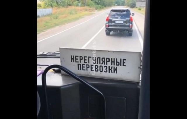 Кабина автобуса