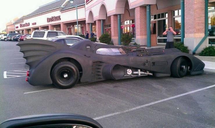 Бэтмобиль в реальном мире