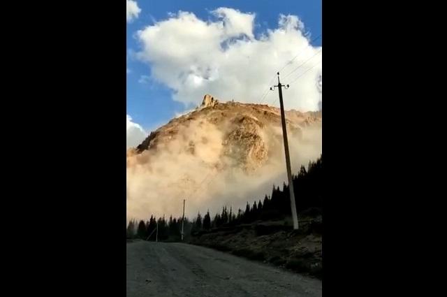 Гора в Нарынской области
