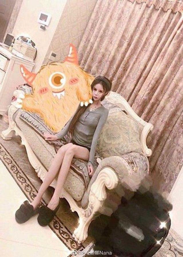 Little Z Nana на диване