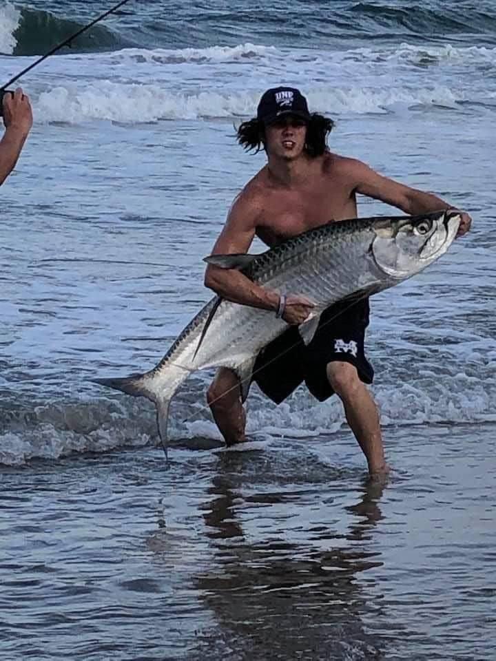 Крутой улов рыбака