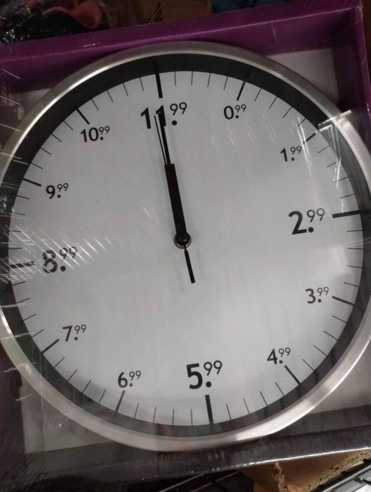 Креативные часы