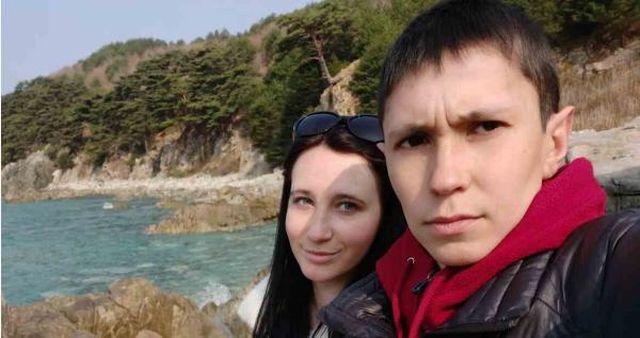 Денис Вашурин с девушкой