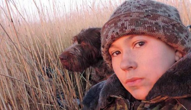 Денис Вашурин с собакой