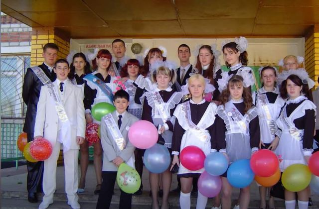 Денис Вашурин в школе