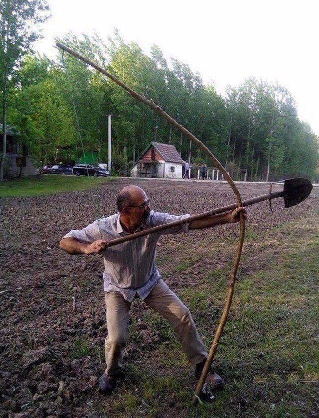 Дачный лучник