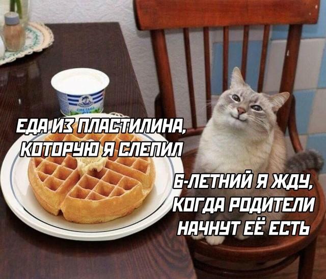 Еда из пластелина
