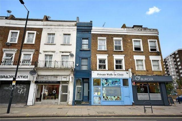 Самый узкий дом в Лондоне