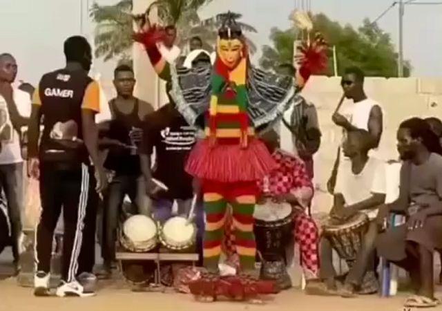 Племенные танцы Африки