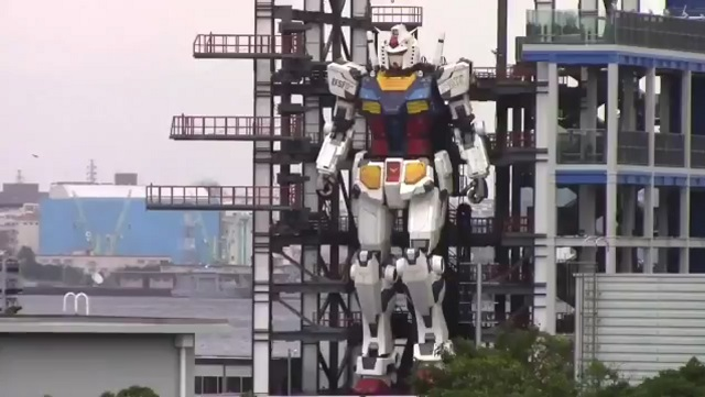 Огромный робот в Японии