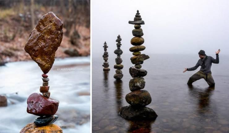 Удивительный баланс камней