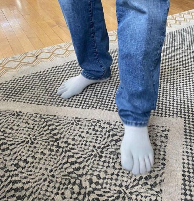 Носки с пальцами