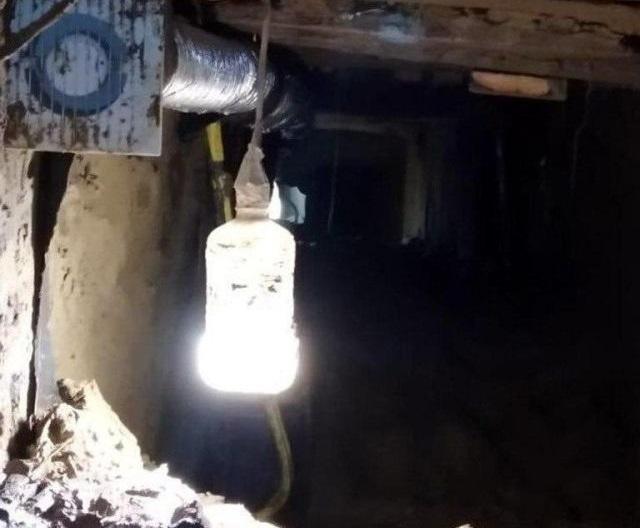 Лампа в тоннеле