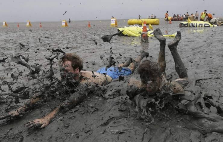 Купания в грязи
