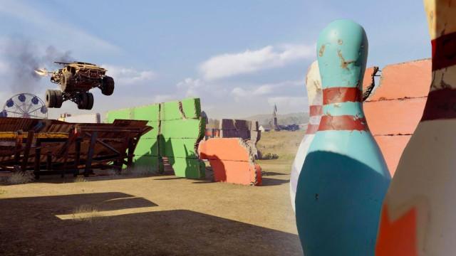 Парк развлечений в постапокалиптическом экшне Crossout (6 фото)