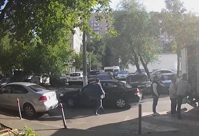 Двор в Москве