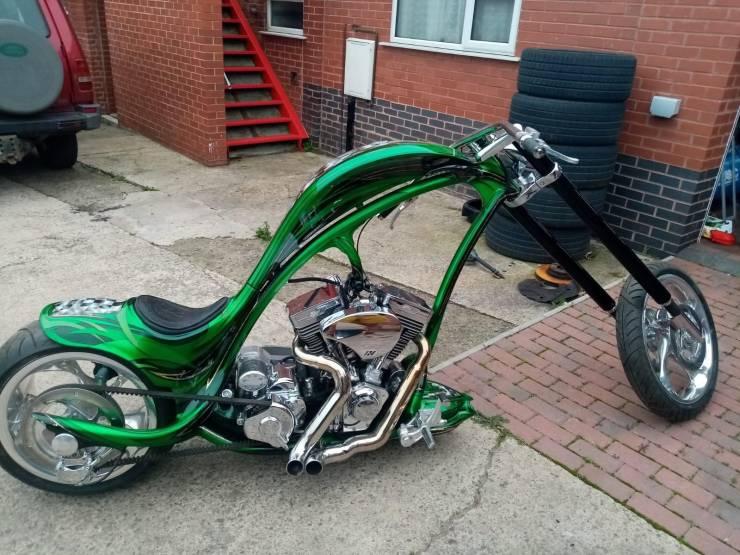 Кастомный мотоцикл