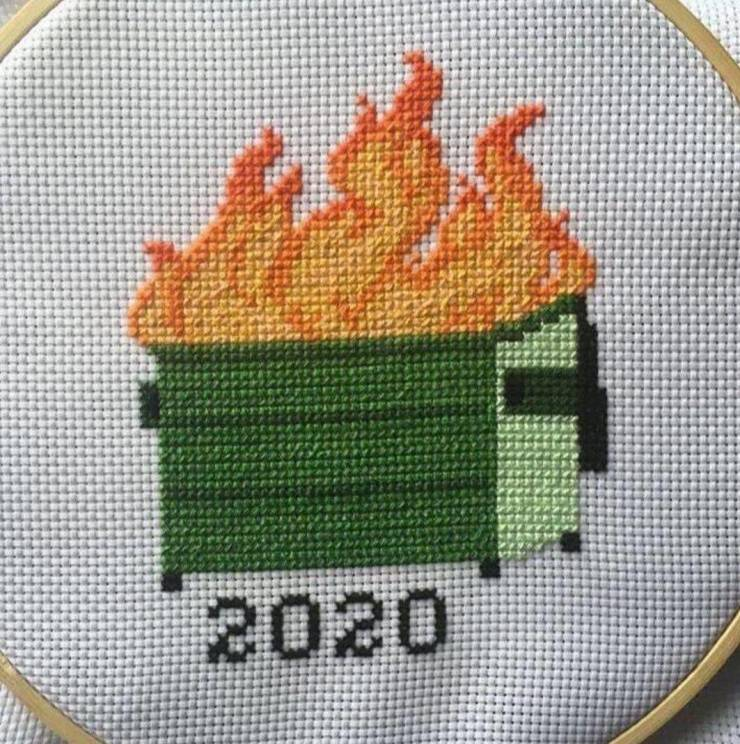 Вышивка 2020 года