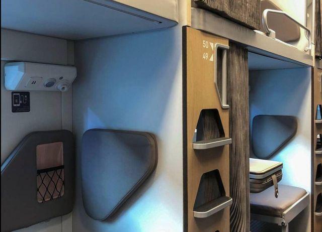 Спальные места в плацкартном вагоне