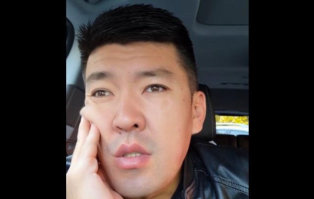 Мужчина из Казахстана