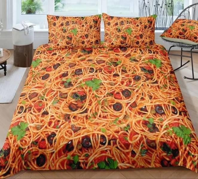 Постельное белье спагетти