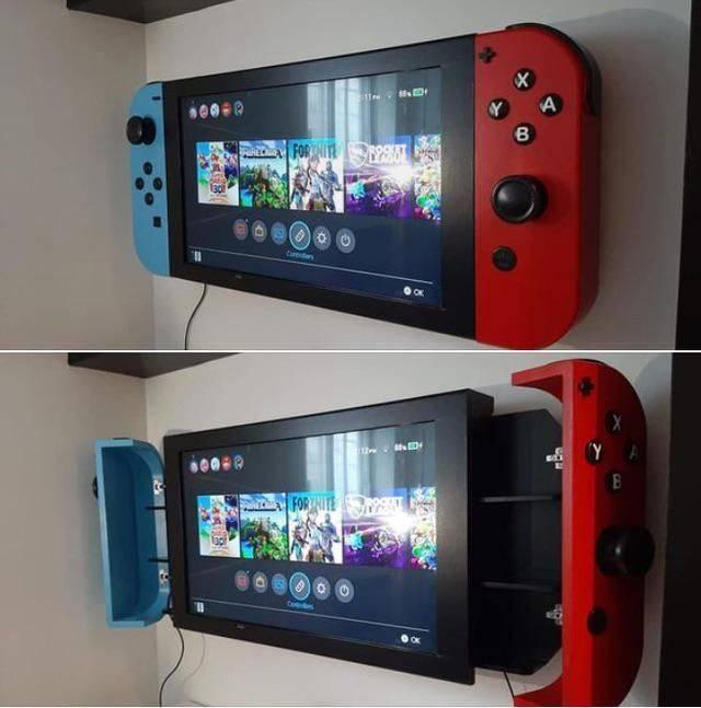 Телевизор в видео игровой консоли
