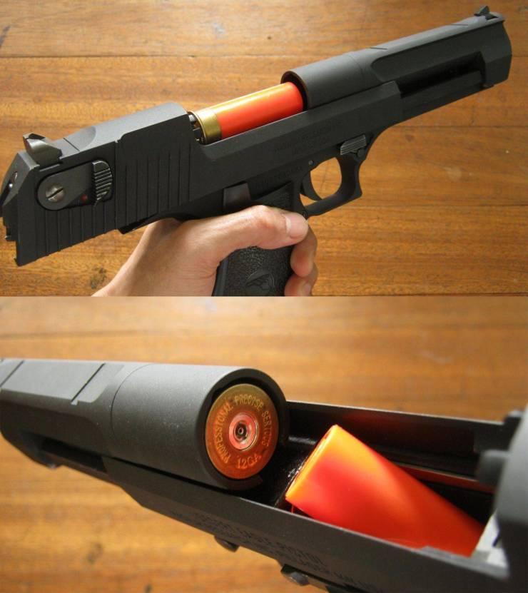 Необычные патроны в пистолете