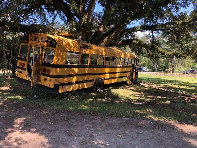 школьный автобус разбился