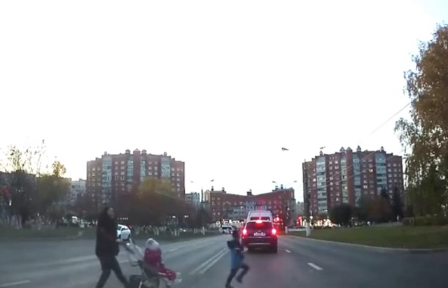 перебегают дорогу в неположенном месте