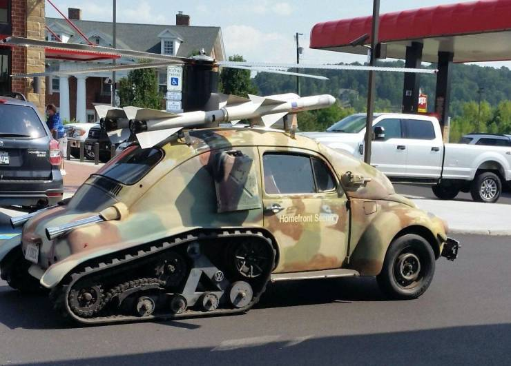 Тюнинг военного автомобиля